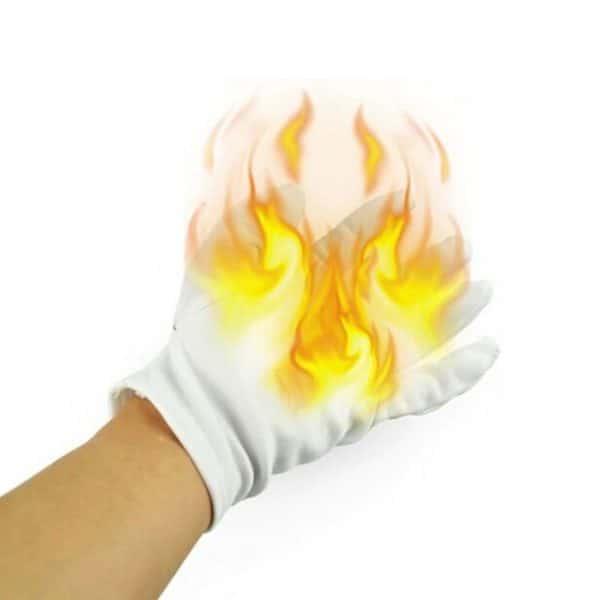 guantes manipulacion fuego magia