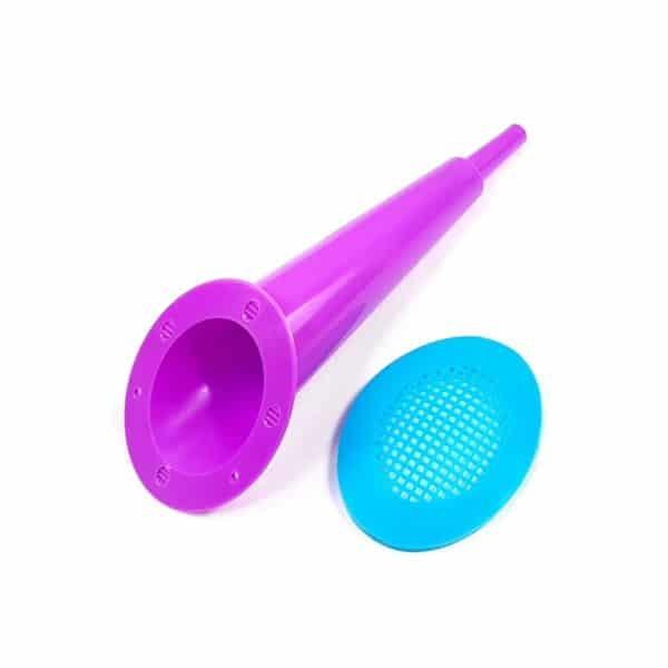 trompeta para burbujas