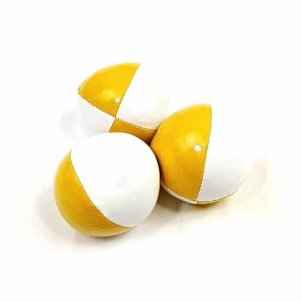 pelotas rellenas semillas malabares