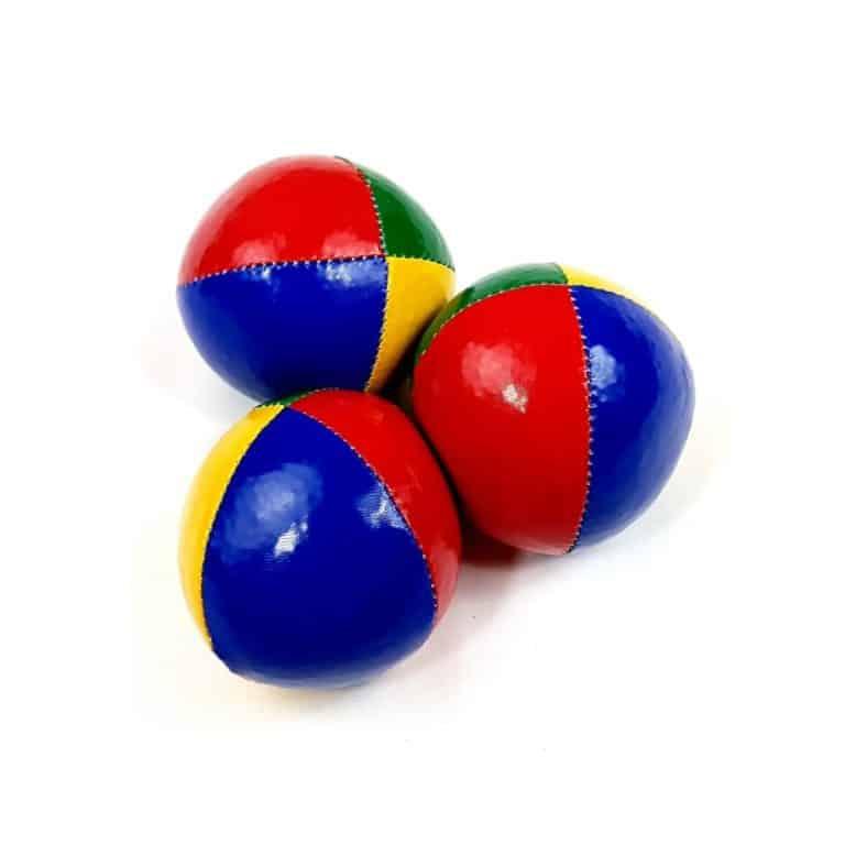 set pelotas cosidas malabares