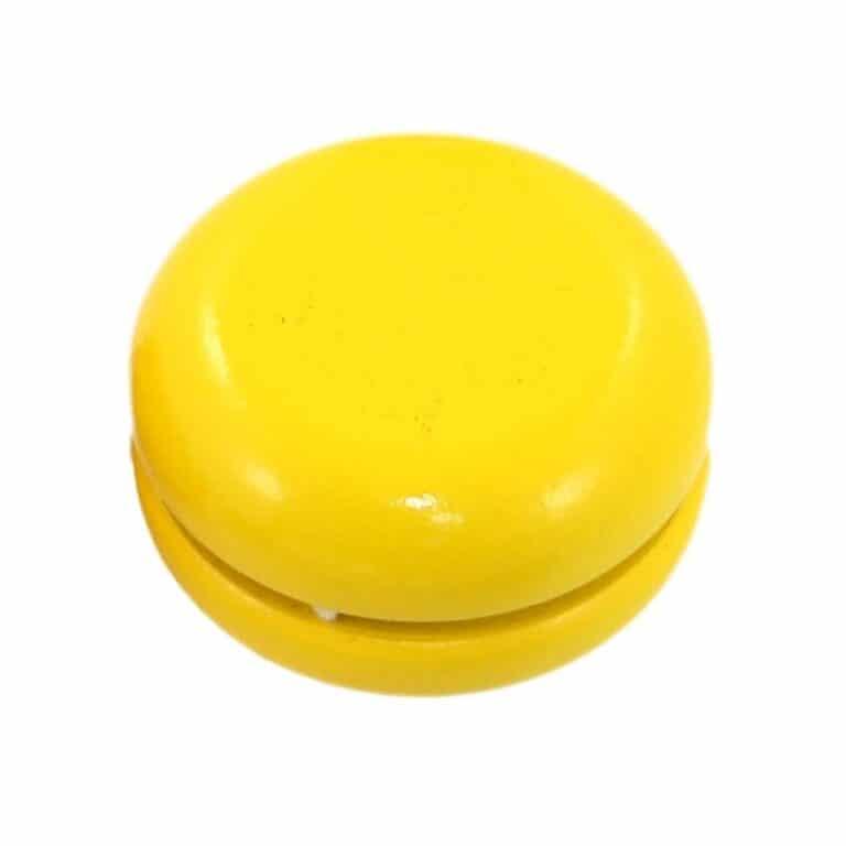 yo-yo madera amarillo